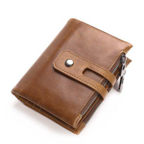 Cheap Wallets Long Men Purse Wallet Male Clutch Leather Zipper Wallet Men Business Male Wallet Coin
