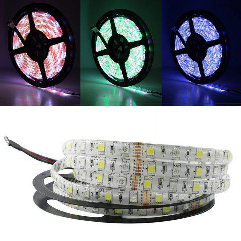 Chic 5M/LOT LED Strip Waterproof 5050 RGBW DC 12V Flexible LED Light RGB + Warm White 60 LED/M