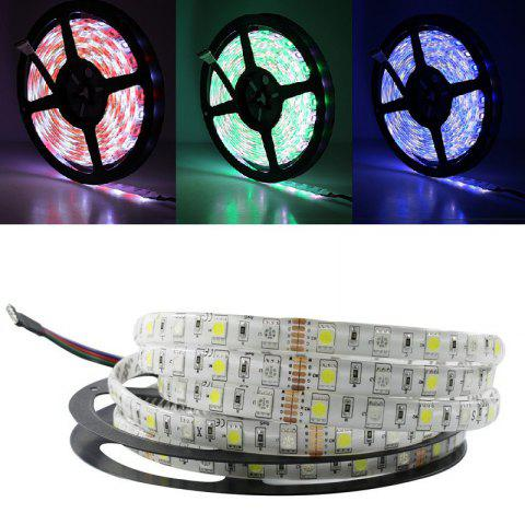 5M / Lot LED Bande 5050 RGBW DC 12V Flexible LED Lumière RGB + Blanc Chaud 60 LED / M