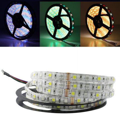 Shop 5M/Lot LED Strip 5050 RGBW DC 12V Flexible LED Light RGB + Warm White 60 LED/M