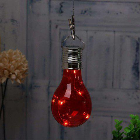 Cheap Hanging Solar Light Bulb with Hook