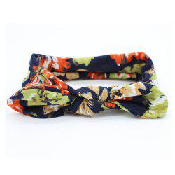 New Colorful Baby Headband Stretchable Headdress Kids Bow Knot Hair Band -