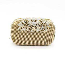 Rhinestone Evening Clutch Bag -
