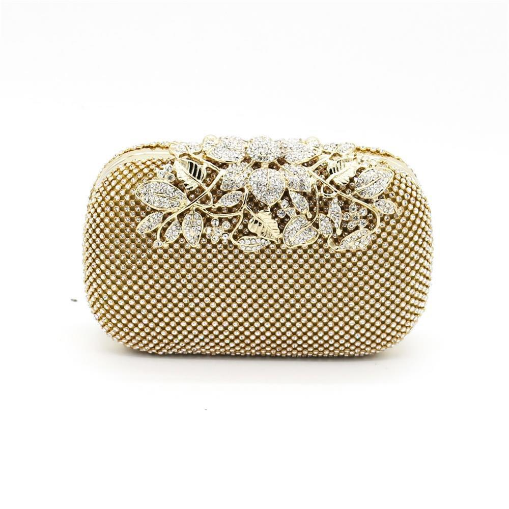 Affordable Rhinestone Evening Clutch Bag