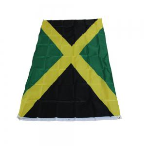 Best Selling High Quality 90X150 Cm Jamaica Flag Polyester Banner Outdoor -
