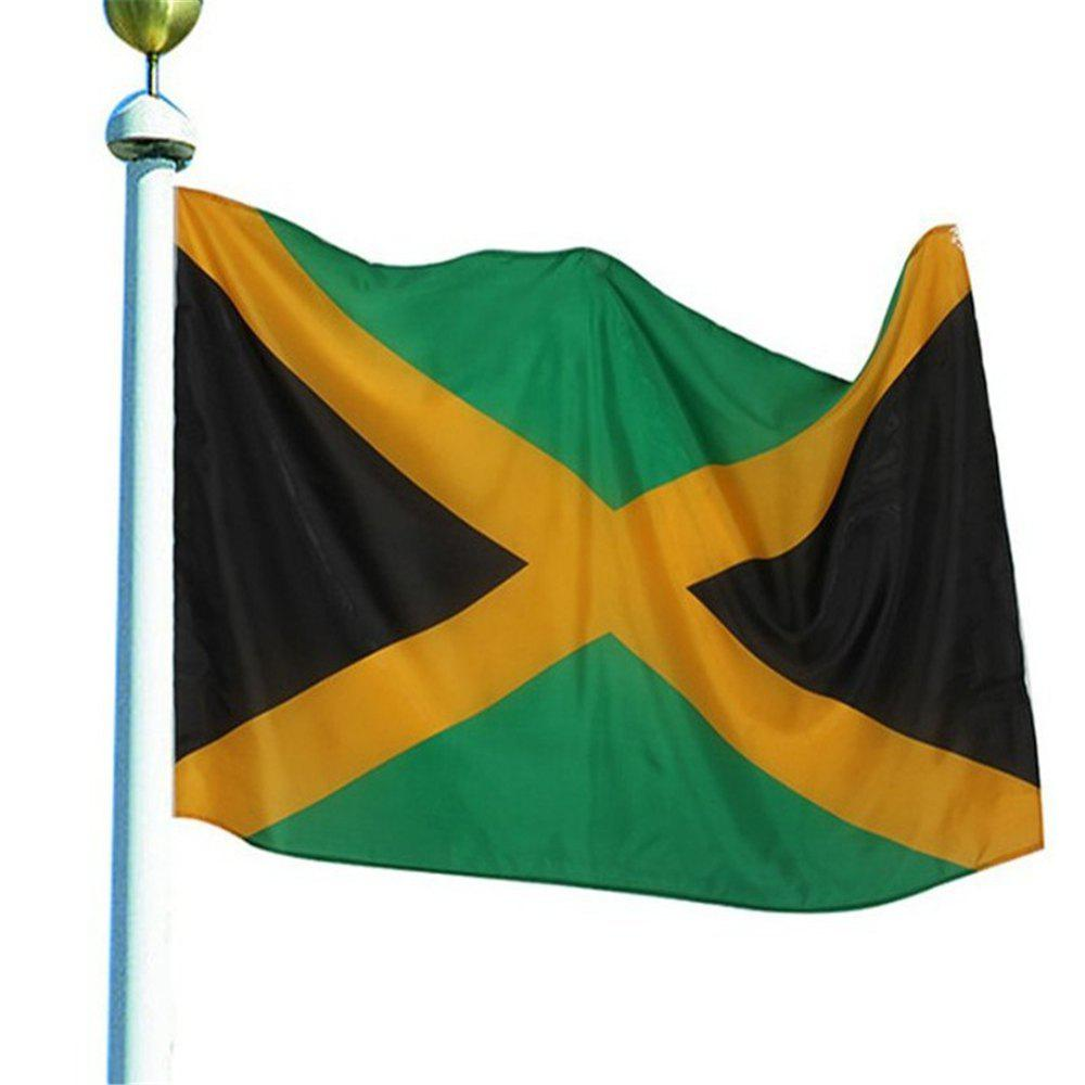 Discount Best Selling High Quality 90X150 Cm Jamaica Flag Polyester Banner Outdoor