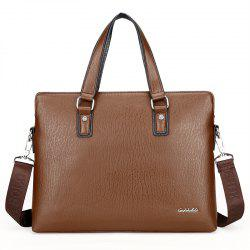 New Casual Fashion Hand-shoulder Diagonal Cross-section Briefcase Male -
