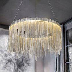 Nordic Modern Simplified Phere Tassel Personality Lamp Living Room Bedroom Art Creative Pendant Light -