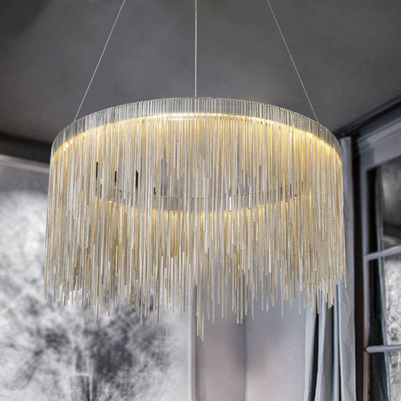 Shops Nordic Modern Simplified Phere Tassel Personality Lamp Living Room Bedroom Art Creative Pendant Light