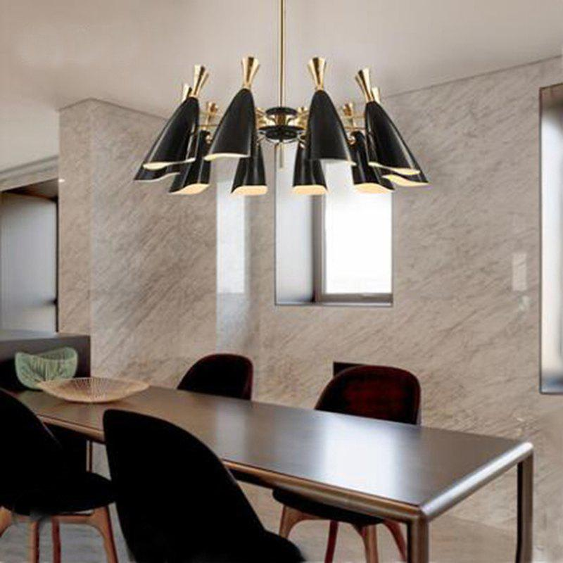 Discount Nordic Modern Industrial Style Creative Chandelier for Living Room Restaurant