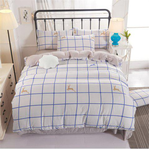 Trendy Warm and Modern Style Bedding Set