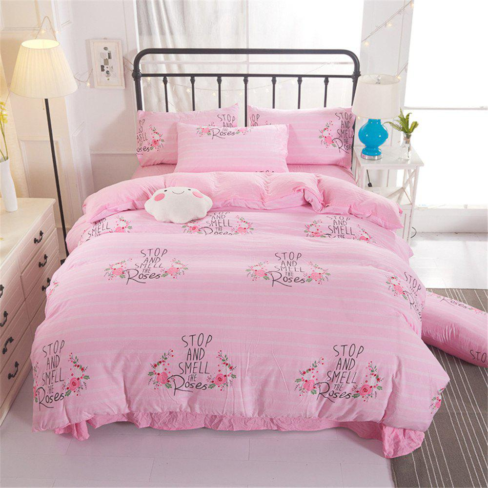 Sale Warm and Modern Style Bedding Set