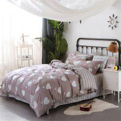 Simple Comfortable Soft Four-Piece Beding Set -
