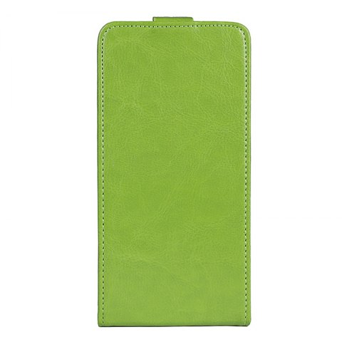 Best Up and Down Crazy Horse Stripes Pu Leather Case for Homtom S8