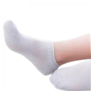 Spring and Summer Boneless Sawing Cotton Mesh Breathable Baby Footsocks Five Pairs Mixed Color -