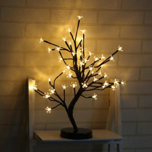 Table Lamp Creative Cherry Tree Design LED Decorative Home Night Light -