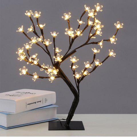 Chic Table Lamp Creative Cherry Tree Design LED Decorative Home Night Light