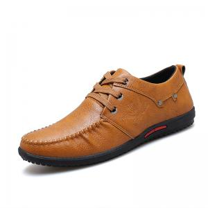 Simple Style Breathable Formal Casual Shoes For Men -