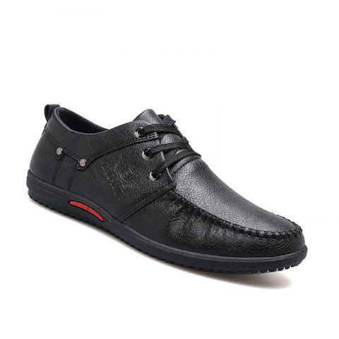 Trendy Simple Style Breathable Formal Casual Shoes For Men