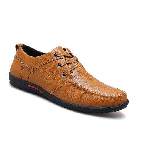 Online Simple Style Breathable Formal Casual Shoes For Men