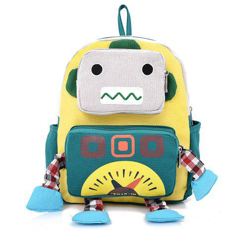 Chic Children Cartoon Robot Backpack