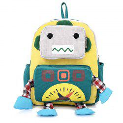 Children Cartoon Robot Backpack -
