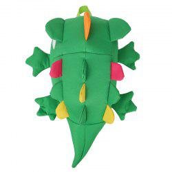Children Cartoon Three-dimensional Lizard Backpack -