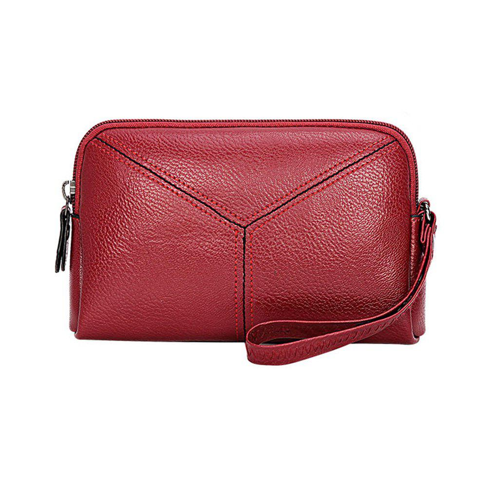 Shop Ladies New Fashion Zippers Wallet Clutch Small Handbag for Women