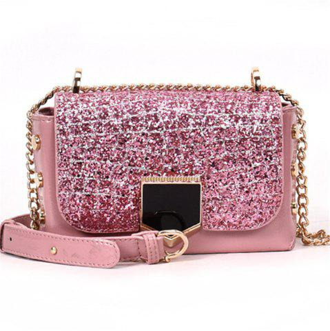 Cheap Sequin Female Wild Messenger Shoulder Bag Fashion Small Square Package