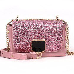 Sequin Female Wild Messenger Shoulder Bag Fashion Small Square Package -