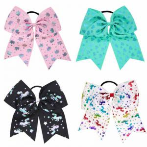 Girls Big Bow HairBand Children Headband Colored Swallowtail Hair Accessories -