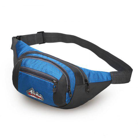 Outfits Nylon Multi-layer Sports Waist Bag for Man and Women