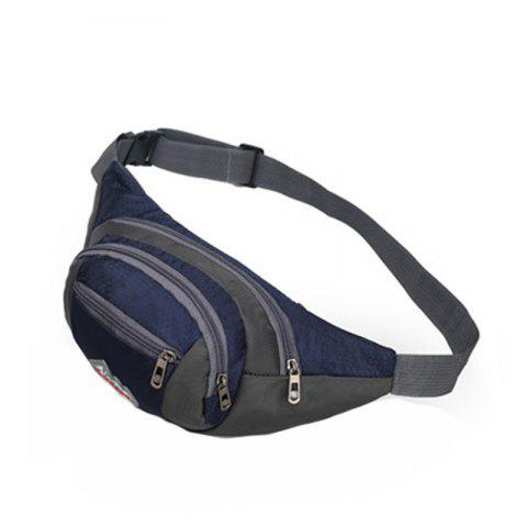 Discount Nylon Multi-layer Sports Waist Bag for Man and Women
