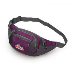 Nylon Multi-layer Sports Waist Bag for Man and Women -