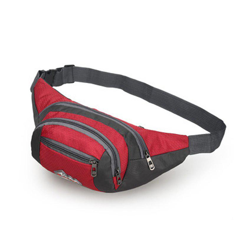 Outfit Nylon Multi-layer Sports Waist Bag for Man and Women