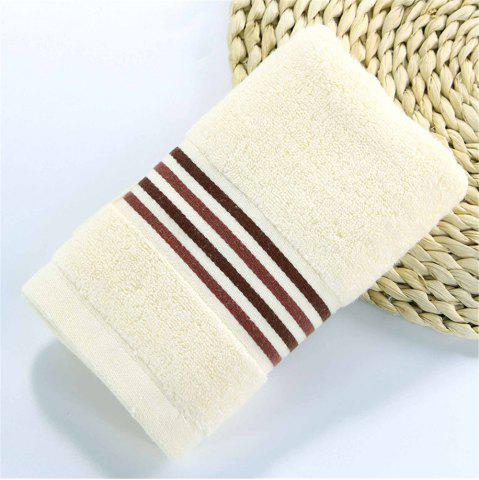 Outfit Muchun Stripe Jacquard Satin Superior Cotton Towel for Adults Kids Soft Rectangle Towels