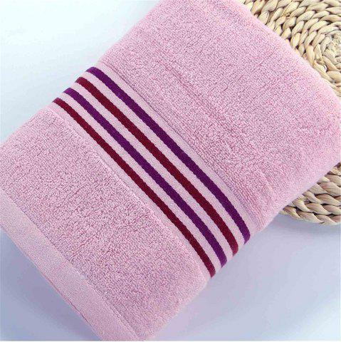 Trendy Striped Bath Towel for Adults Kids Soft Cotton Beach Bathroom Towel Super Absorbent Quick Dry