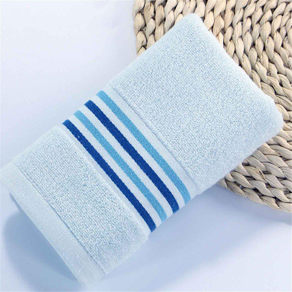 Sale Striped Bath Towel for Adults Kids Soft Cotton Beach Bathroom Towel Super Absorbent Quick Dry
