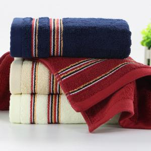 Cotton Soft Hair Towel Super Absorbant Home Textile Large Face Towel For Adult -