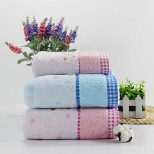 Soft Fabric Towel Embroidered With Satin Cotton Washcloth Absorbent Towel Home Textile -
