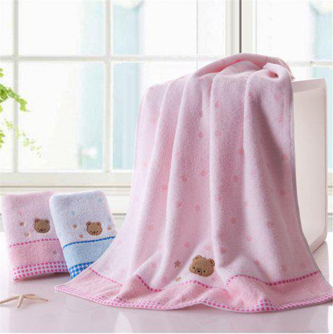 Discount Soft Fabric Towel Embroidered With Satin Cotton Washcloth Absorbent Towel Home Textile