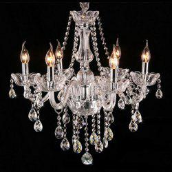 CP8006 European Style Deluxe Candle Crystal Chandelier -