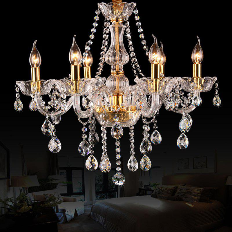 Fashion CP8006 European Style Deluxe Candle Crystal Chandelier