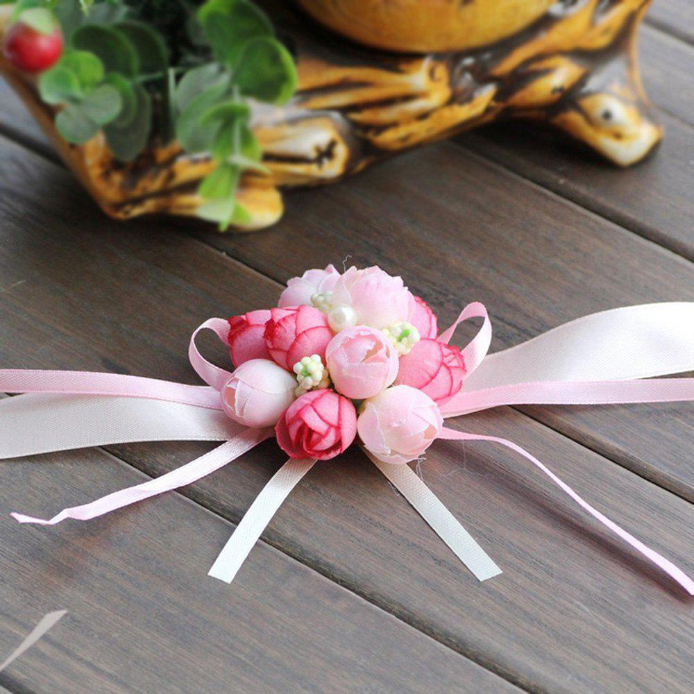 Chic The Rose Emulational Wrist Flower Decoration