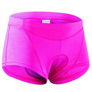 Realtoo Women's 3D Padded Bicycle Low Waist Cycling Underwear Shorts -