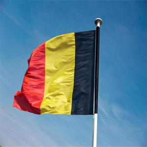 Fans Games Belgian Flag on The 4TH 90 x 150CM -