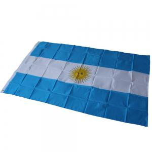 Fans Games Argentina Flag on The 4TH 90 x 150CM -