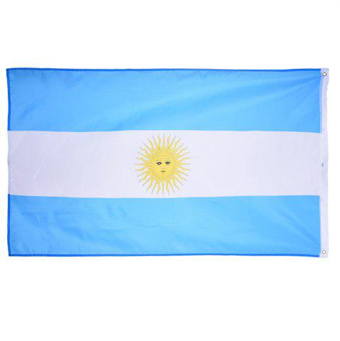 Fancy Fans Games Argentina Flag on The 4TH 90 x 150CM
