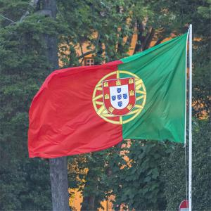 Fans Games Portugal Flag on The 4TH 90 x 150CM -