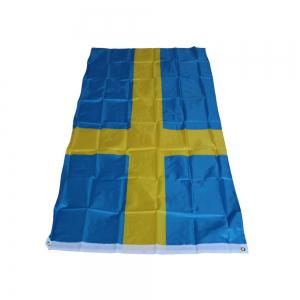 Fans Games Swedish Flag on The 4TH 90 x 150CM -